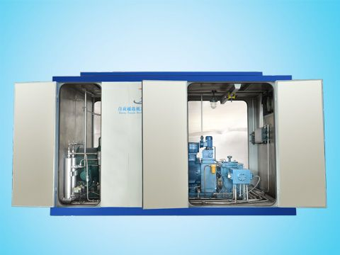 水冷天然气压缩机结构图解